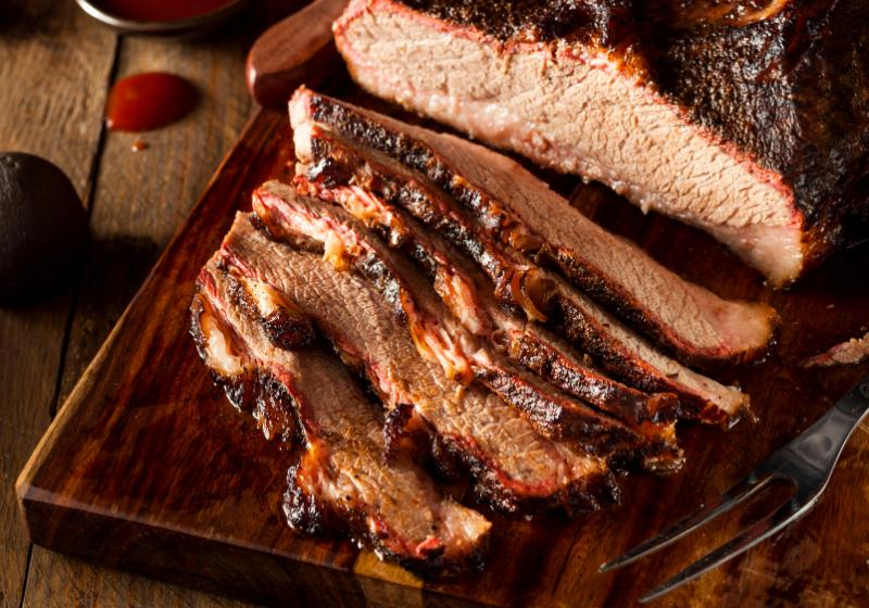 homemade smoked barbecue beef brisket sauce