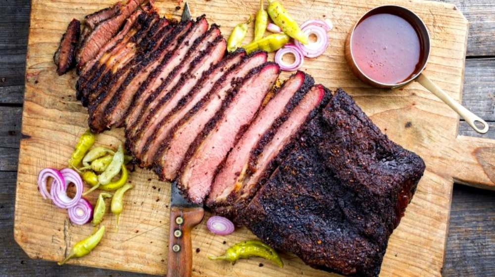 traditional smoked barbecue wagyu beef brisket | Homemade BBQ Recipes And Mouthwatering BBQ Ideas | featured