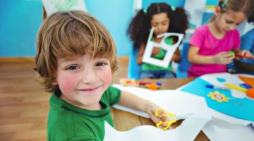 Feature   Happy kids doing arts and crafts together   DIY Kids Crafts You Can Make In Under An Hour