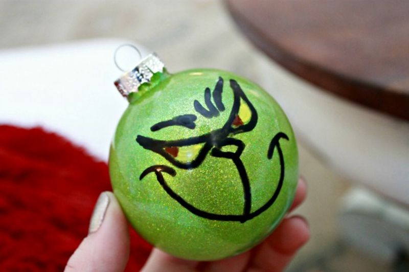 The-Grinch-Christmas-Ornament | christmas craft kits for adults