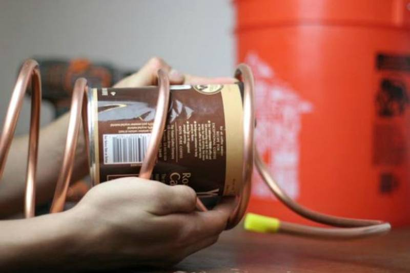 Tighten the Refrigerator Coil if Needed | Learn How To Make A Still For Self Reliance