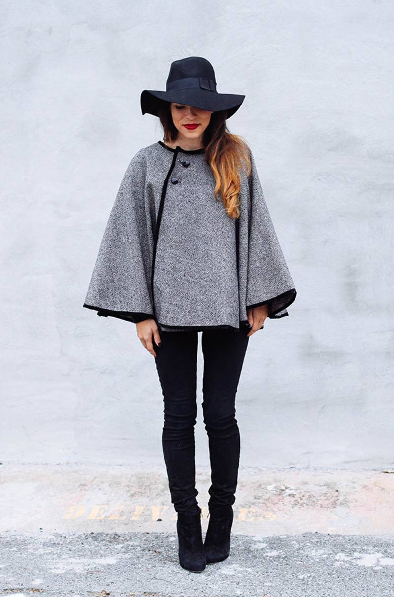 DIY-Wrap-Cape-In-Honor-of-Design | fashion trends for autumn 2020