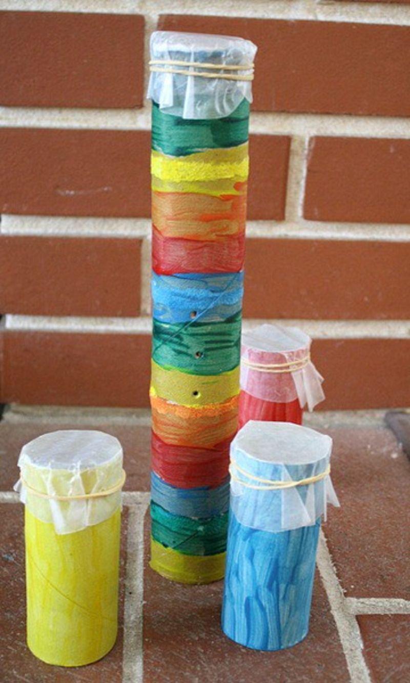 exploring-sound-making-a-kazoo-science-invitation-saturday | toilet paper roll art