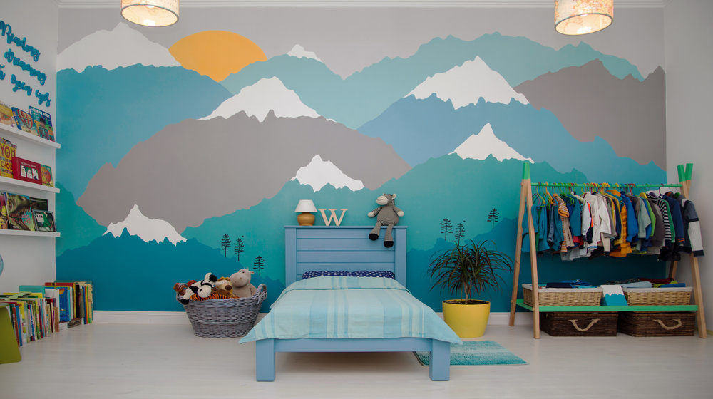 11 Diy Wall Mural Ideas You Can Paint In A Day Diy