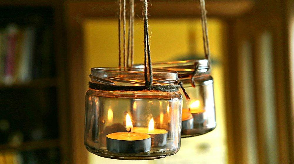 4th Of July Mason Jar Lanterns Diy Lighting And Decor