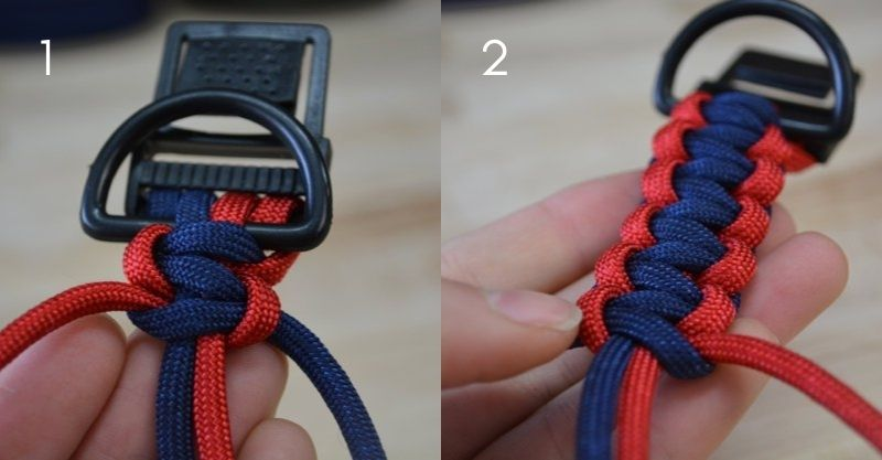 Cobra Weave | instructables paracord dog collar