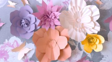 color-flowers-paper-background-decorative Cricut | Cricut Projects for Beginners and Bigger Kids | Featured
