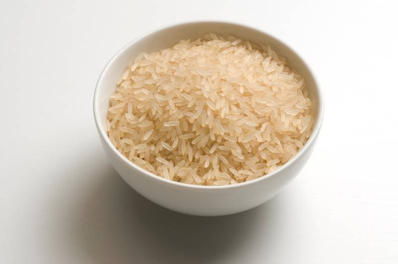 cup-filled-raw-rice-grains | what to fill my draft stopper with