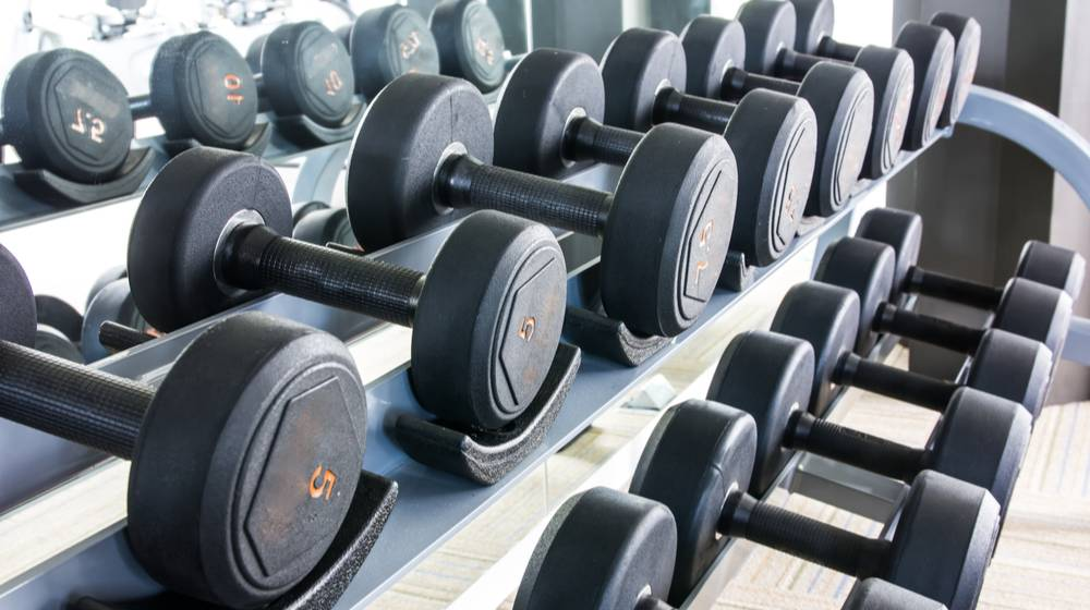 rows-dumbbell-gym | DIY Dumbbell Rack Layouts to Keep Your Weights Organized | Featured