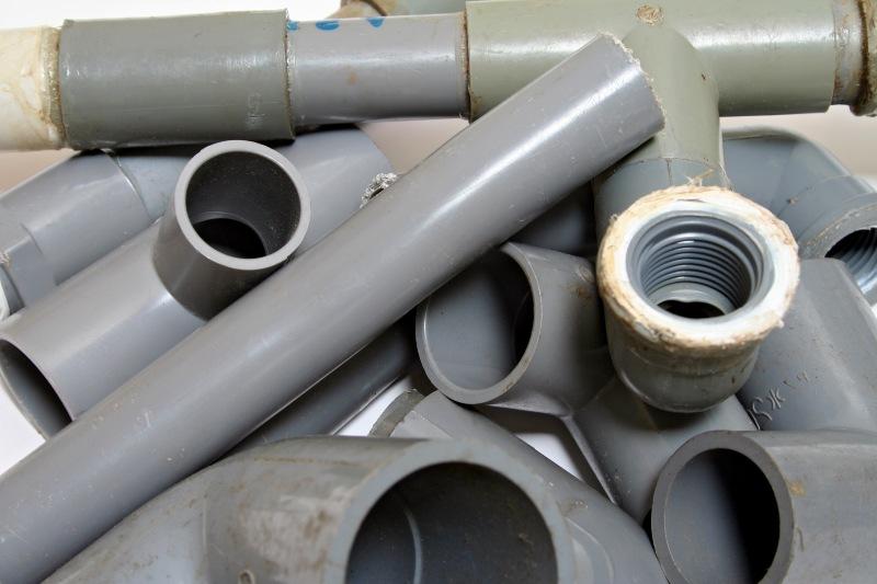Assortment of PVC Piping Joints | DIY Kayak Rack
